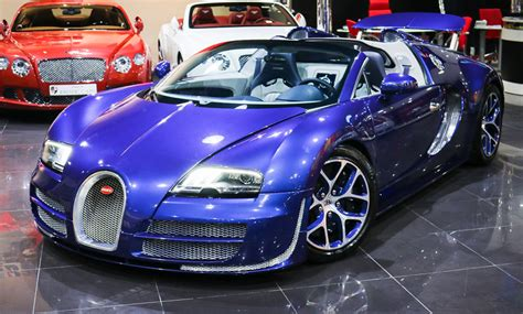 Bespoke Blue on Blue Bugatti Veyron Vitesse For Sale