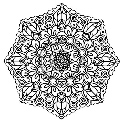 floral inspirations a detailed floral coloring book books detailed flower coloring pages to and print for free