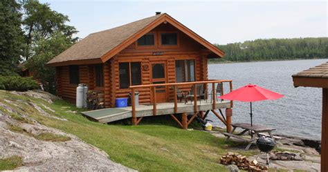 cabin in cabin rentals in sunset country ontario canada