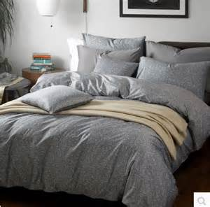 King Size Duvet Cover Bedding 4pcs Five Star Hotel Bedding Set King Size Grey Color