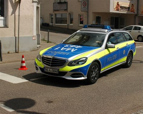 Auto Folierung Polizei by File Bammental Mercedes Benz Polizei Bwl4 3648 Ma 1 443