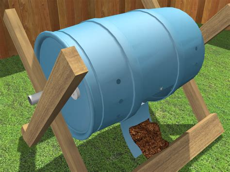 how to build a tumbling composter 11 steps with pictures
