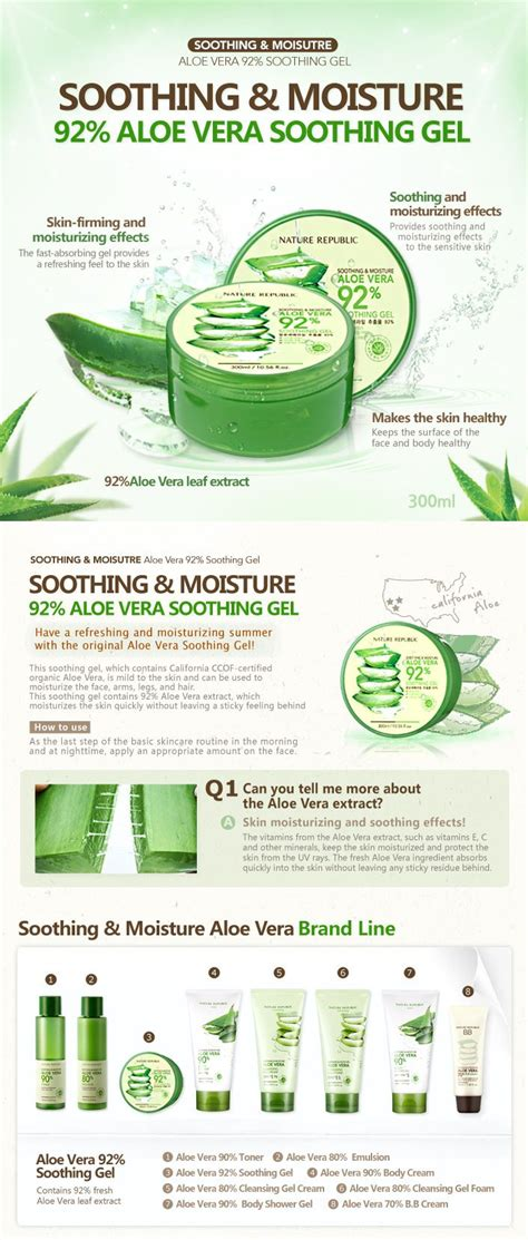 Nature Republic Aloe Vera Soothing Gel Pimples 1000 images about k j beauty on