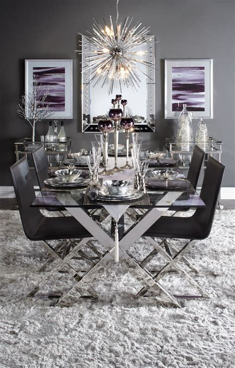 modern glass dining room table best 25 glass dining room table ideas on