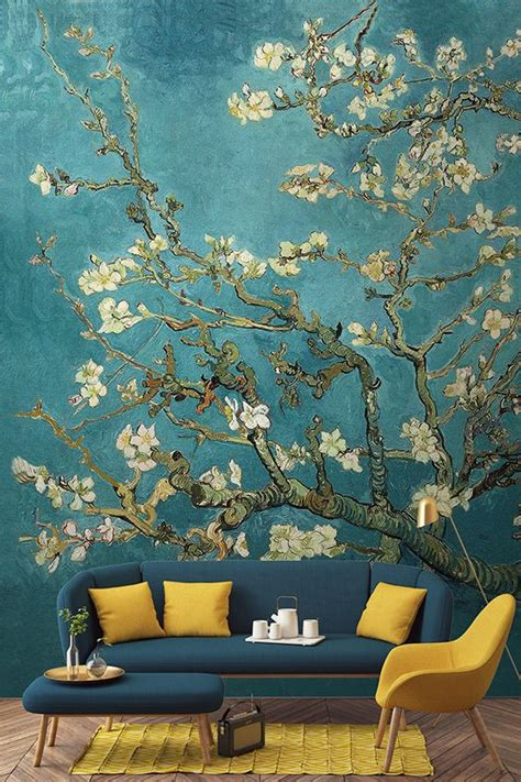 salon wall murals 25 best ideas about painted wall murals on