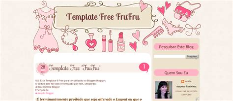 layout gratis templates gr 225 tis para blogs femininos