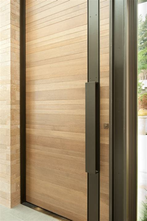Washington Park Hilltop Residence By Stuart Silk Front Doors Seattle
