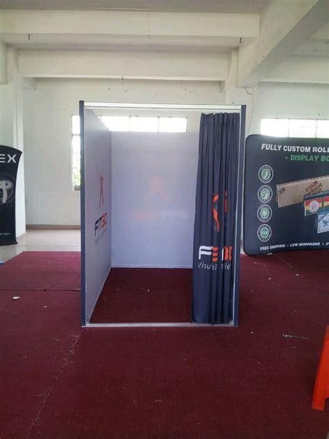 Portable Fitting Room by Portable Dressing Room Custom Print Change Rooms Free Shipping