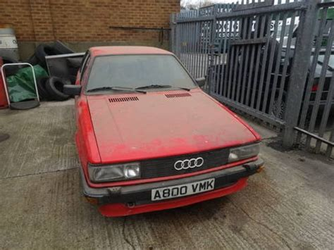 Audi 80 Quattro For Sale Uk by For Sale Audi 80 Quattro Saloon B2 1983 2 1 5 Cylinder