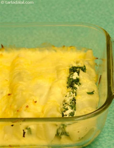 Spinach And Cottage Cheese by Spinach And Cottage Cheese Canneloni Recipe Italian