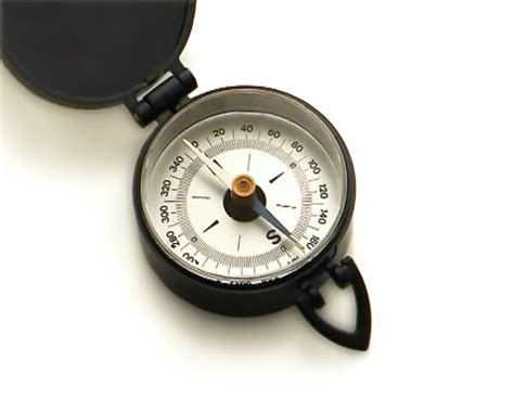 swinging the compass compass with needle swinging stock footage video 580852