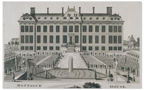 House Plan Shop Montagu House The First British Museum The British