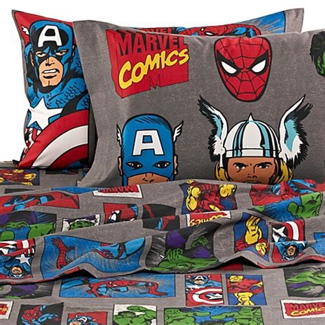superhero bed sheets buy disney 174 marvel heroes quot super heroes quot printed full