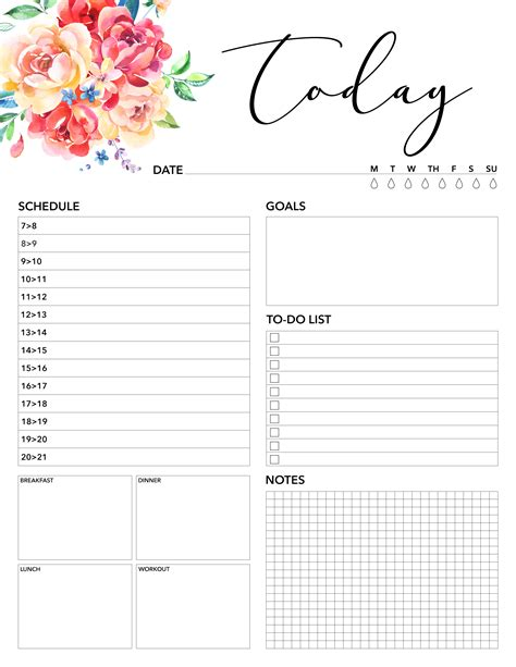 printable planner for 2018 free printable 2018 planner 50 plus printable pages the