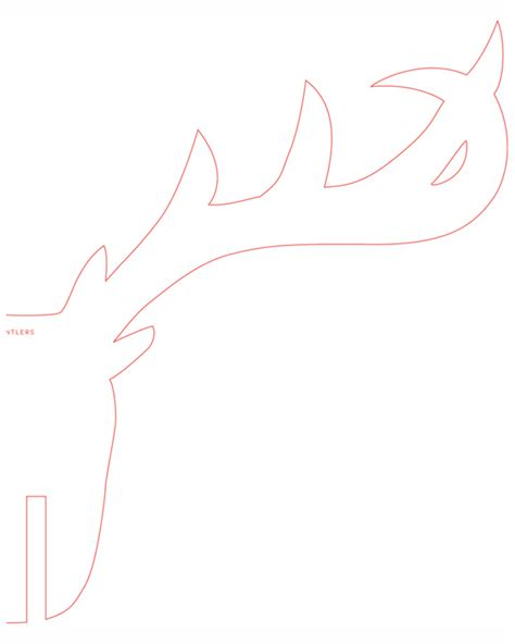 reindeer head template with out antlers search results