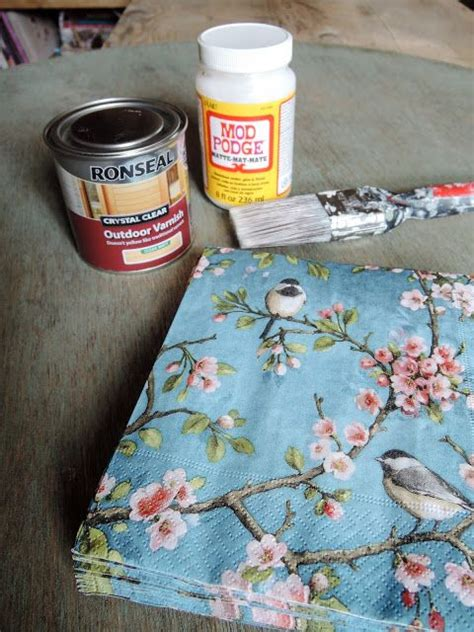 the 25 best decoupage table ideas on