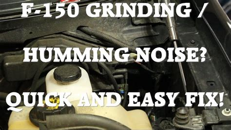 grinding humming noise solved easy fix  replace