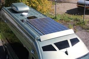 Solar L Post For Rv by Roadtrek Solar Panels Autos Post