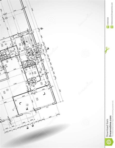 Architectural Background Royalty Free Stock Photos Architectural Drawings Vector
