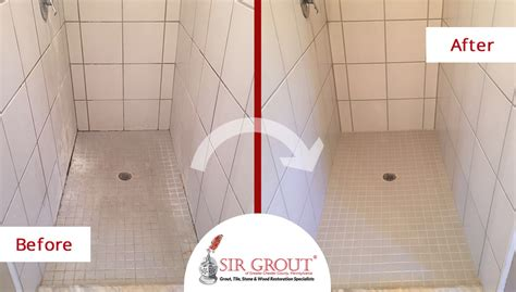 Shower Grout Turning Orange by Clean Shower Grout Cleaned U0026 Treated Grout A Shower