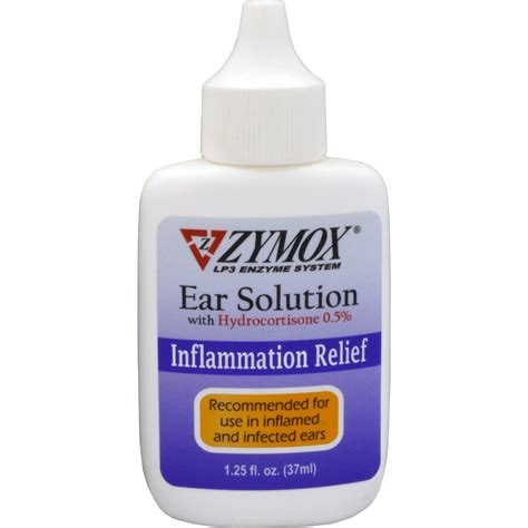 ear solution for dogs zymox ear solution petco