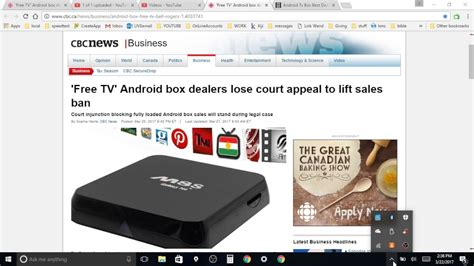 Are Android Boxes Illegal by Android Tv Boxes Illegal In Canada