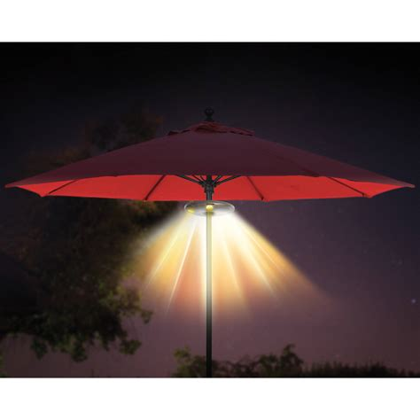 ion speaker with lights ion audio patio mate umbrella light with bluetooth stereo
