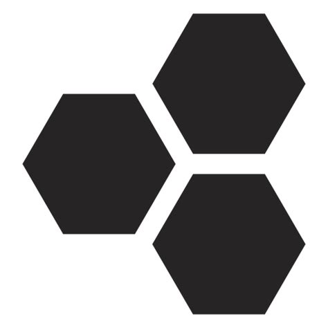hexagon basic icon transparent png svg vector