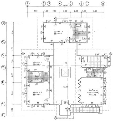free thai house plans thai house plans 3 bed 3 bath maids