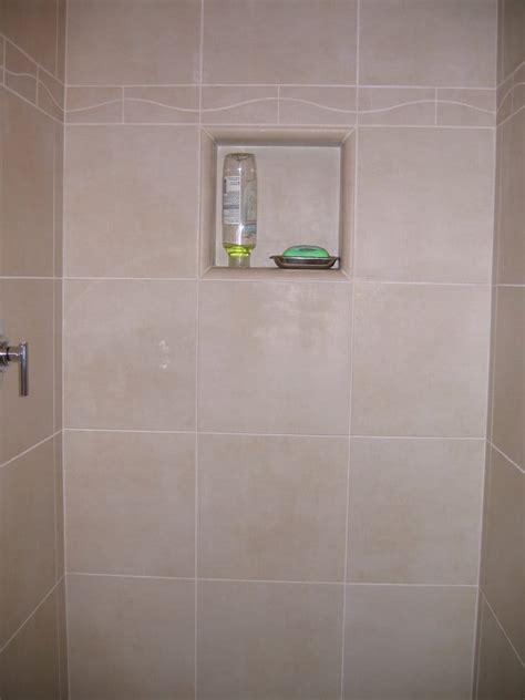 Bathroom Shower Inserts Master Bath Shower With Shoo Shelf Insert Yelp