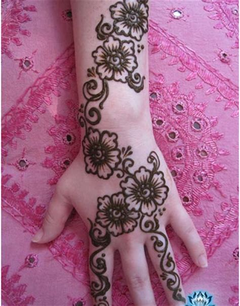 flower design mehndi best mehndi designs incredible snaps