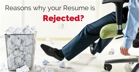 top 10 reasons why your resume was rejected wisestep