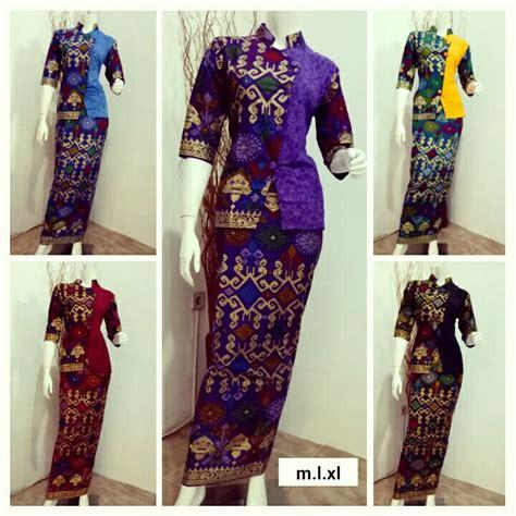 Baju Pesta Batik Model Baju Pesta Batik Model Baju Batik Gamis Gbm3005
