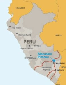 peru predicted to be south america's first major uranium