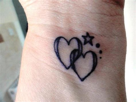 two heart tattoo designs 82 fantastic wrist tattoos