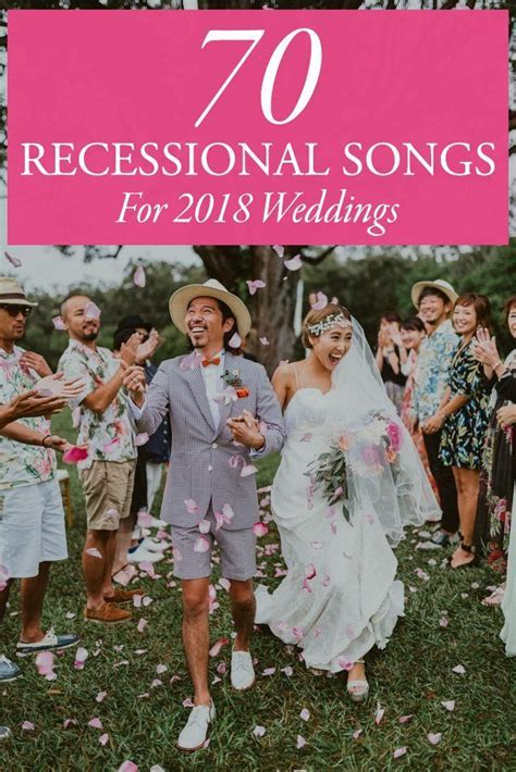 70 Ceremony Recessional Songs for 2018 Weddings   Posing