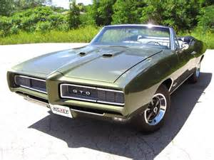 1968 Gto Pontiac 1968 Pontiac Gto Excellent For Sale Oaks Pennsylvania