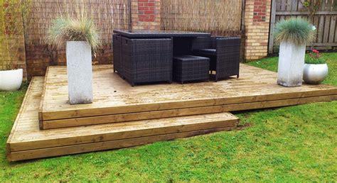 Decking Ideas For The Garden Homeofficedecoration Sloped Garden Decking Ideas