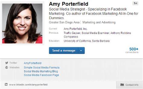 design foto profil profilo linkedin elementi principali