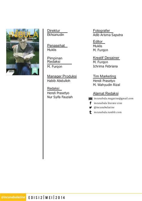 Kalkulus 3 Edisi 5 incunabula zine edisi 2 mei 2014
