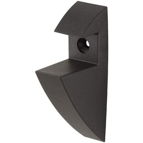 Shelf Clip Brackets by Black Glass Shelf Pair Ebay