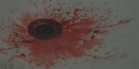 cut wrists in bathtub facing blood while removing tonsil stones cure tonsil