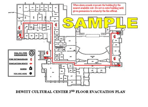 Hope College Sle Evacuation Plan Emergency Evacuation Route Template