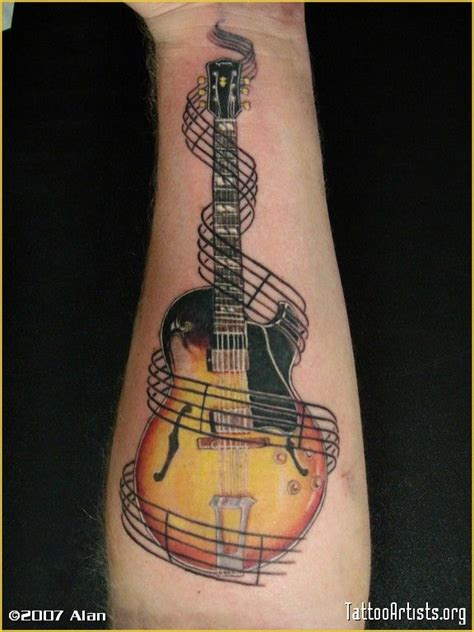 tattoo guitar body 57 best images about gibson ink on pinterest e tattoo