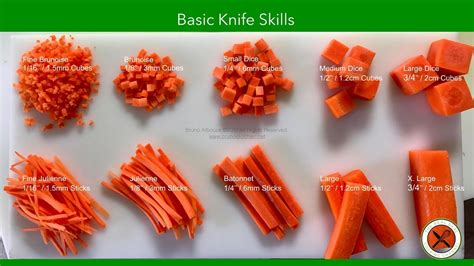 corte en brunoise learn the culinary basic knife cuts such as fine brunoise