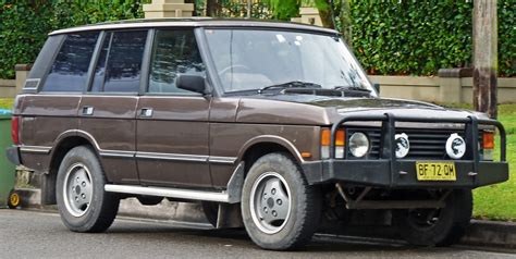 range rover defender 1990 1990 land rover range rover i pictures information and