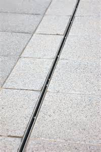 mono slot drain discreet linear drainage system details commercial water and
