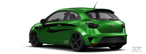 Auto Tuning Seat Ibiza 6j by Tuning Of Tuning Seat Ibiza Cupra 3 Door Hatchback 2009