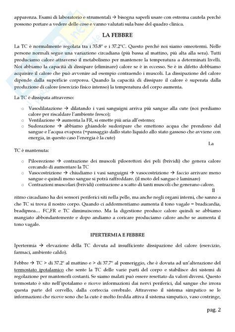 appunti medicina interna lezioni varie appunti di medicina interna