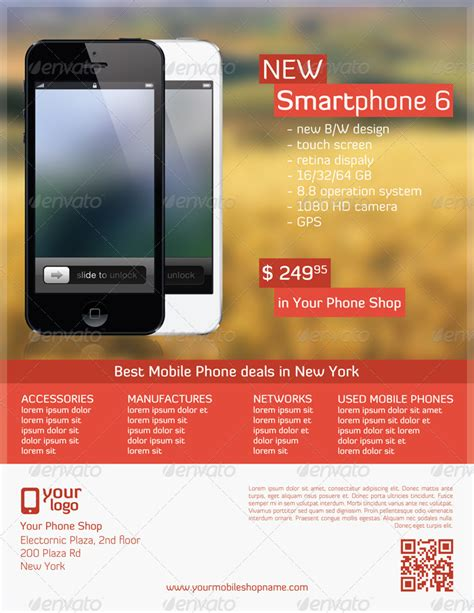 mobile shop template mobile phone shop flyer template by majkolthemez